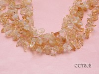 Wholesale 12-25mm Irregular Translucent Citrine Chips String