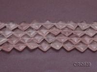 Wholesale 14.5mm Square Rose Quartz Beads String