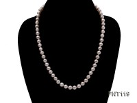 6.5-7mm White Freshwater Pearl Necklace, Bracelet and Stud Earrings Set