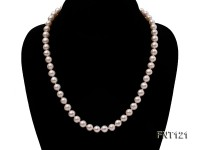 8-8.5mm White Freshwater Pearl Necklace, Bracelet and Stud Earrings Set