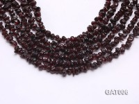 Wholesale 6-9mm Irregular Red Garnet String
