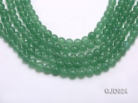 Wholesale 8mm Round Light Green Aventurine String