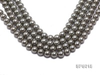 Wholesale 12mm Round Olive Seashell Pearl String
