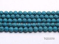 Wholesale 10mm Round Blue Turquoise Beads String