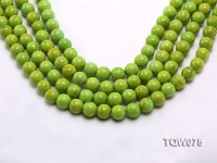 Wholesale 12mm Round Green Turquoise Beads String