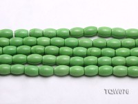Wholesale 9x12mm Green Turquoise Beads String