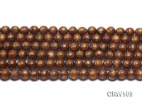 Wholesale 8mm Round Golden Coral Beads Loose String