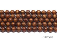 Wholesale 11mm Round Golden Coral Beads Loose String