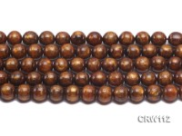 Wholesale 12mm Round Golden Coral Beads Loose String