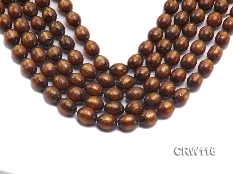 Wholesale 12x15mm Oval Golden Coral Beads Loose String