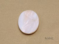 White Carved Beauty Shell Necklace Accessory