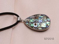40x30mm Drop-shaped Abalone Shell Pendant