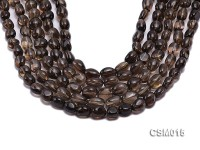 Wholesale 10x12mm Oval Smoky Quartz Beads String
