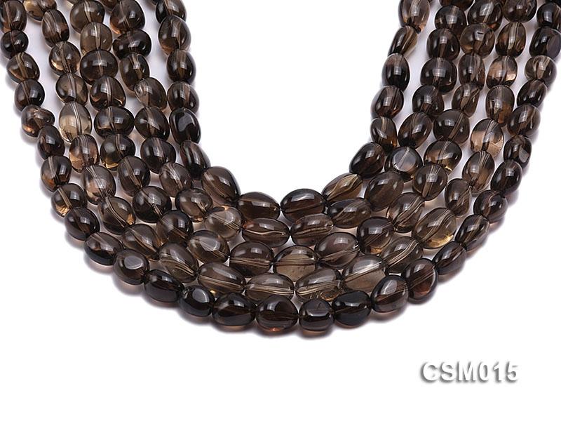 Wholesale 10x12mm Oval Smoky Quartz Beads String