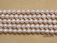 Wholesale 7-7.5mm Classic White Round Freshwater Pearl String