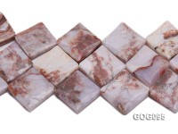 Wholesale 30mm Square Gemstone String