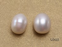 Wholesale 10x15mm Classic White Drop-shaped Loose Freshwater Pearls