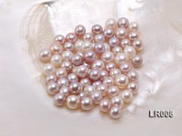 7.5-8.5mm Natural Lavender Round Freshwater Loose Pearl