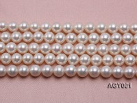 AAAAA 9-10mm White Akoya Pearl String