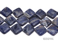 Wholesale 25mm Square Gemstone String