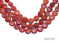 Wholesale 20mm Disc-shaped Gemstone String