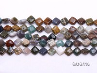 Wholesale 8mm Colorful Square Gemstone String