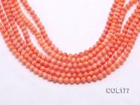 Wholesale 6mm Lantern-shaped Orange Coral Beads Loose String