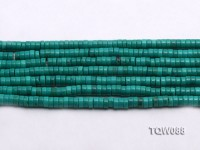 Wholesale 2x5mm Blue Turquoise Beads String
