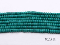 Wholesale 4x6mm Blue Turquoise Beads String