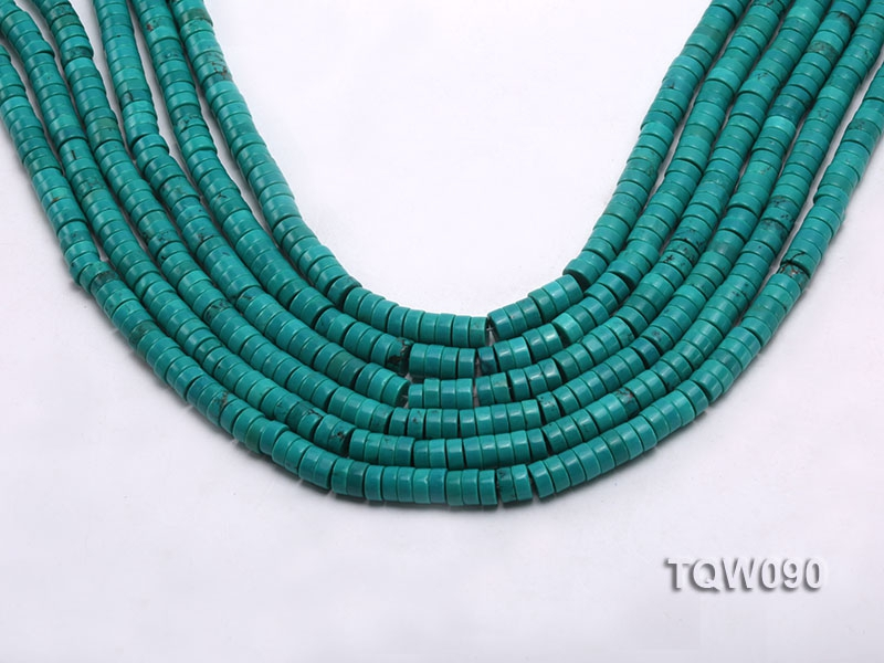 Wholesale 3×6.5mm Blue Turquoise Beads String