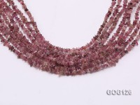 Wholesale 3-5mm Colorful Tourmaline Gravel String