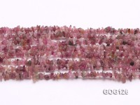 Wholesale 3-5mm Colorful Tourmaline Gravel String