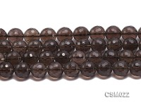 Wholesale 15.5mm Round Smoky Quartz Beads String