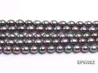 Wholesale High-quality 7x8mm  Rice-shaped Freshwater Pearl String