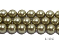 Wholesale 20mm Round Olive Seashell Pearl String