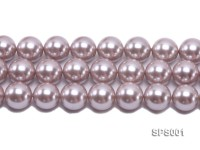 Wholesale 20mm Lavender Round Seashell Pearl String