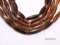 wholesale 8x40mm oval agate strings