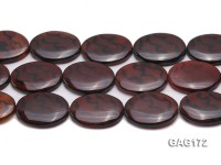 wholesale 30X40mm oval agate pieces strings