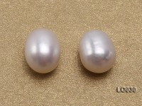 Wholesale 7-8mm Classic White Drop-shaped Loose Freshwater Pearls