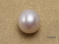 Wholesale 10.5×11.5mm Classic White Drop-shaped Loose Freshwater Pearls