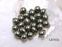 Wholesale 12x15mm Teardrop  Loose Seashell Pearl