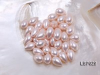Wholesale 10X15.5mm Teardrop  Loose Seashell Pearl