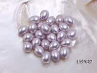 Wholesale 12x15mm Teardrop Lavender Loose Seashell Pearl