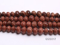 wholesale 8-18mm wheel-shaped Goldstone strings