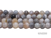 wholesale 14mm faceted white round agate strings
