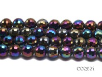 Wholesale 16mm Round Colorful Faceted Crystal Beads Strings