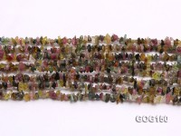Wholesale 4-5mm Colorful Tourmaline Gravel String