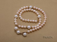 Single-strand Cultured Freshwater Pearl Necklace