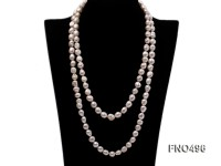 11.5*12.5mm natural white baroque freshwater pearl necklace