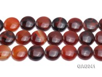 wholesale 25mm round agate piece strings